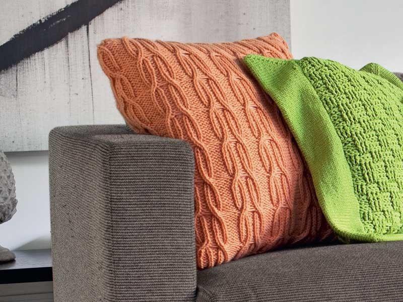 Подушка с «косами»