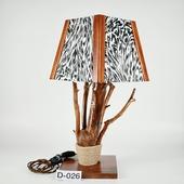 Авторский деревянный светильник DIMATI, Арт: D-026