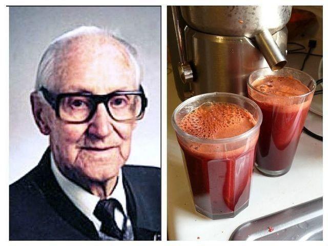 Раковые клетки умирают в течение 42 дней: Сок по рецепту от знаменитого австрийц...