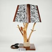 Авторский деревянный светильник DIMATI, Арт: D-036