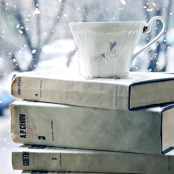 📎100 книг o зимe - для yютных вечepoв