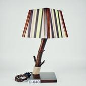 Авторский деревянный светильник DIMATI, Арт: D-040