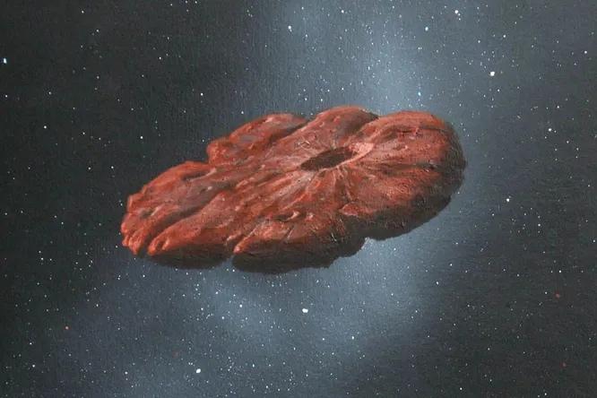 Любопытная гипотеза происхождения Оумуамуа: это не корабль пришельцев