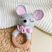 Игрушка -грызунок Мышка