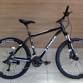 """Велосипед TRINX M1000 MAJES гидравл(2021) 27,5"""" 21 рамаЧерный/Синий/Белый"""