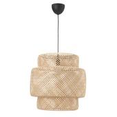 Подвесной светильник, бамбук