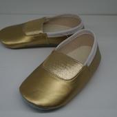 Чешки цвет золото размеры 22, 23, 25, 26