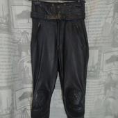 (2246)Мотоштаны кожаные Polo (Герм), р-р XS.