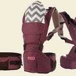 Эргорюкзак + хипсит на двух лямках Sinbii Premium S-Fit Set, фиолетовый