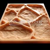 Бут Деревенский - RUBBLE STONE Art. R202. Полиуретановая форма для бетона.