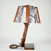 Авторский деревянный светильник DIMATI, Арт: D-021