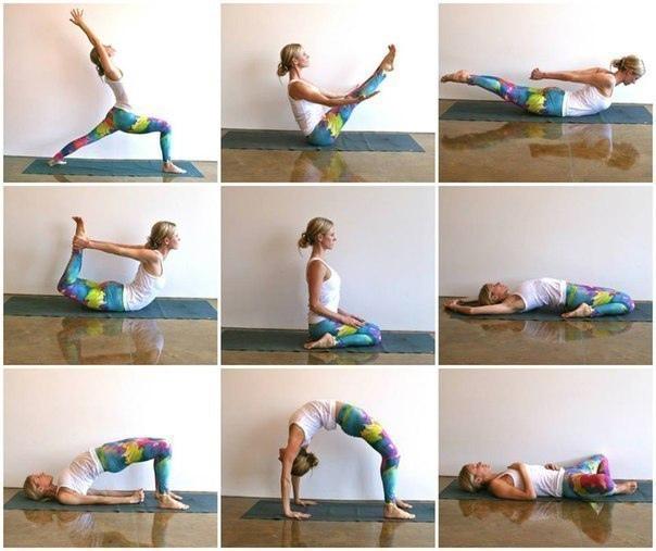 Последовательная йога для тех, кто много сидит