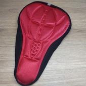 Чехол (мягкая подушка) для велосипедного седла, Красный