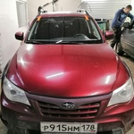 Замена лобового стекла на Subaru Impreza