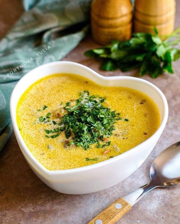 Суп с фаршем и фасолью.