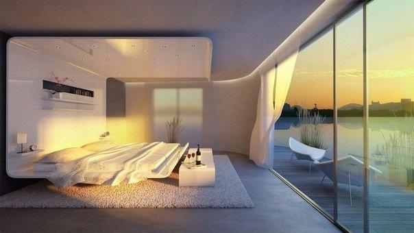 Невероятно уютная спальня