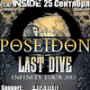 25.09/ POSEIDON + LAST DIVE + Sp./ club Inside