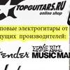 TopGuitars - магазин музыкальных инструментов.