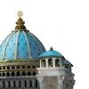 Храм Ведического Планетария в Маяпуре (Индия)