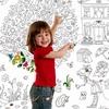 Обои и плакаты РАСКРАСКИ для детей и взрослых