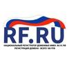 RF.RU - национальный регистратор доменов.