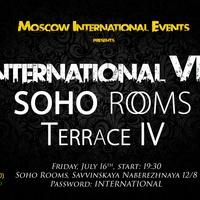 International VIP: Terrace IV