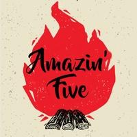 Концерт Amazin' Five в баре Заправка 11 июня (пт