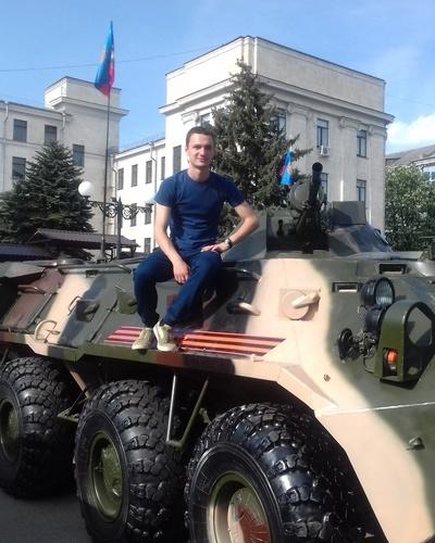 Роман Гавриленко, Луганск