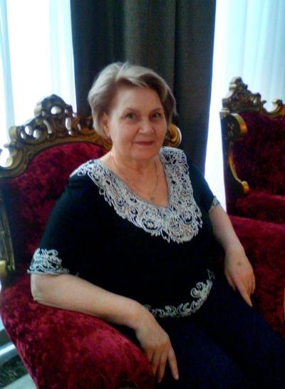 Зинаида Щербак--Семенова, Москва