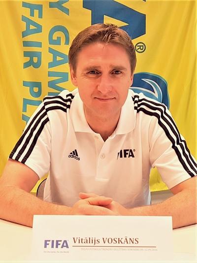 Виталий Воскан, Rēzekne