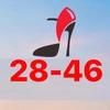 Обувь штучно Садовод 28-46. Обувь женская штучно